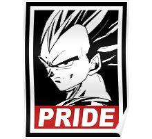 vegeta pride Poster