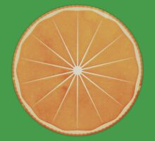 Orange (lucite green) - Natural History Fruits One Piece - Short Sleeve