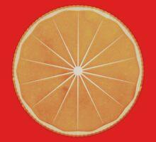 Orange (lucite green) - Natural History Fruits Kids Tee