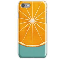 Orange (lucite green) - Natural History Fruits iPhone Case/Skin