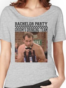 Groom's Drinking Team-Stag Party / Bachelor Party Women's Relaxed Fit T-Shirt