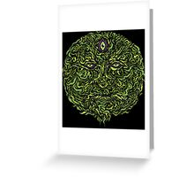 Wise Green Puer Greeting Card