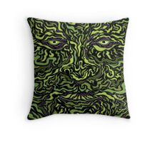Wise Green Puer Throw Pillow
