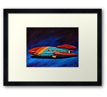 Space Racer Framed Print