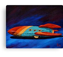 Space Racer Canvas Print