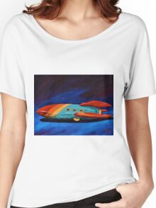 Space Racer Women's Relaxed Fit T-Shirt