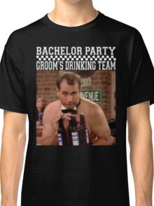 Groom's Drinking Team-Stag Party / Bachelor Party Classic T-Shirt