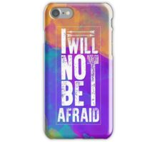 Throne of Glass - I will not be afraid iPhone Case/Skin