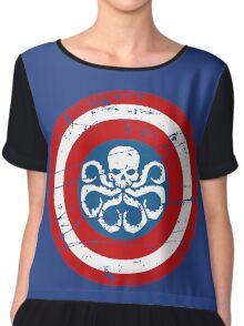 Captain Hydra Chiffon Top