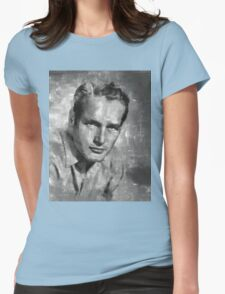 Paul Newman Womens Fitted T-Shirt