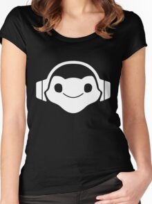 Lucio music Women's Fitted Scoop T-Shirt