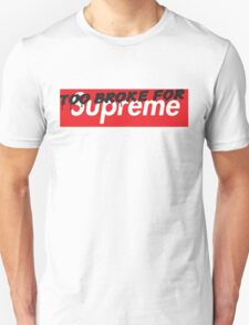 "TOO BROKE FOR ""Supreme"" Unisex T-Shirt"