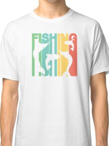 Retro Fishing Classic T-Shirt
