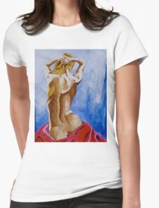 Summer Morning  Womens Fitted T-Shirt