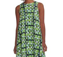 Green Goddess A-Line Dress