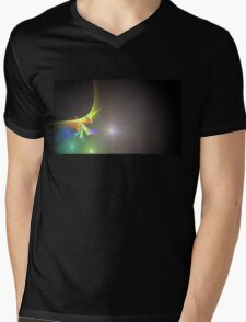 Journey Continues Mens V-Neck T-Shirt