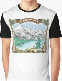 Canada Day Graphic T-Shirt