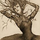 Dancing Tree Girl by Brett Miley