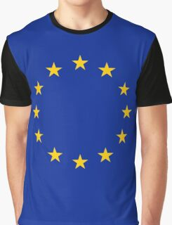 EU Flag Graphic T-Shirt