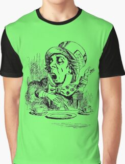 As Mad as a Hatter Graphic T-Shirt