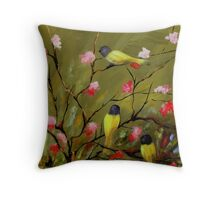 Three Tweets Throw Pillow