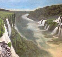 Iguazu- Heaven and hell by Palomar78