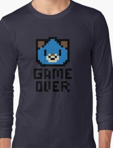 Game Over Hyperdimension Neptunia Dogoo Pixel Art Long Sleeve T-Shirt