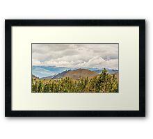 Ecuadorian Landscape at Chimborazo Province Framed Print