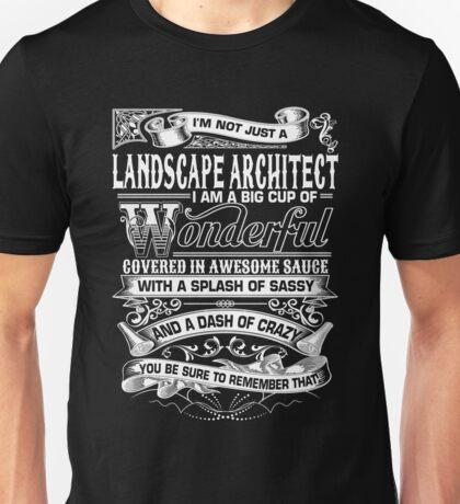 Architect - Landscape Architect Unisex T-Shirt