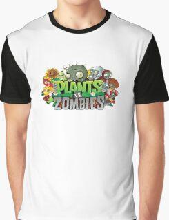 Plants vs Zombies Logo 2 enditanah Graphic T-Shirt