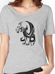 Tiger Tribal Vector Women's Relaxed Fit T-Shirt