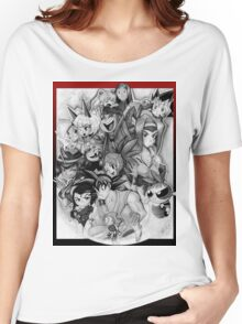 Chibis and Skullgirls Women's Relaxed Fit T-Shirt