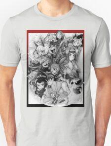 Chibis and Skullgirls Unisex T-Shirt