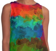 Watercolor Blast Contrast Tank