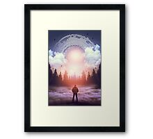 Waiting For the Sun to Rise Framed Print
