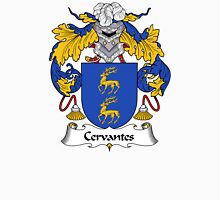 Cervantes Coat of Arms/ Cervantes Family Crest Unisex T-Shirt