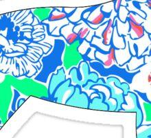 Retriever Sticker Lilly Pulitzer Inspired Print Vinyl Decal Sticker