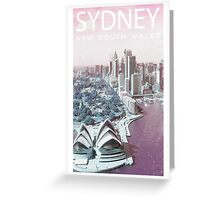 ColorCity: Sydney NSW Greeting Card