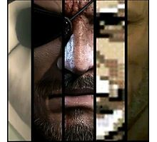 Big Boss Metal Gear Photographic Print