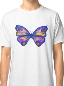 Watercolur Butterfly 1 (blue) Classic T-Shirt