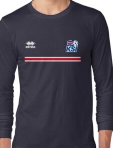 Iceland Football 2016 Long Sleeve T-Shirt