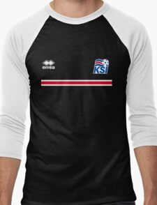 Iceland Football 2016 Men's Baseball ¾ T-Shirt