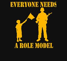 Everyone Needs A Role Model (Gold print) Unisex T-Shirt