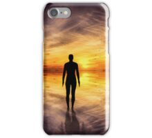 Crosby Beach liverpool iPhone Case/Skin
