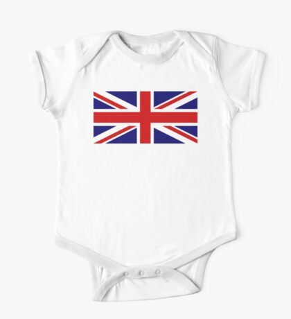 Union Jack, British Flag, UK, United Kingdom, Pure & simple, 1:2 One Piece - Short Sleeve