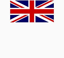 Union Jack, British Flag, UK, United Kingdom, Pure & simple 1:2 Unisex T-Shirt