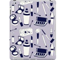 Purple Make-up Pattern iPad Case/Skin