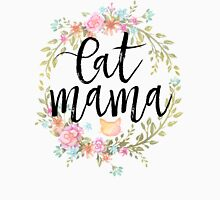 CAT MAMA Womens Fitted T-Shirt