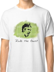 Roger Federer Rule The Court Classic T-Shirt