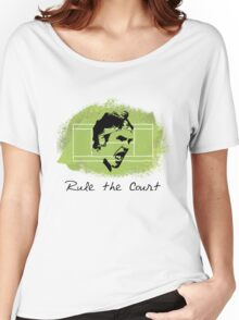 Roger Federer Rule The Court Women's Relaxed Fit T-Shirt